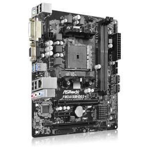 Placa de baza ASROCK FM2A68M-DG3+, Socket FM2+, mATX