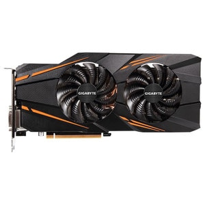 Placa video GIGABYTE NVIDIA Geforce GTX 1070 Windforce OC, 8GB GDDR5, 256bit, GV-N1070WF2OC-8GD