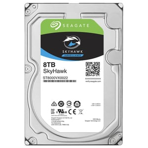 Hard Disk desktop SEAGATE SkyHawk Surveillance 8TB, 7200 RPM, SATA3, 256MB, ST8000VX0022