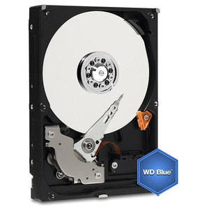 Hard Disk desktop WESTERN DIGITAL Blue, 2TB, 5400 RPM, SATA3, 64MB, WD20EZRZ