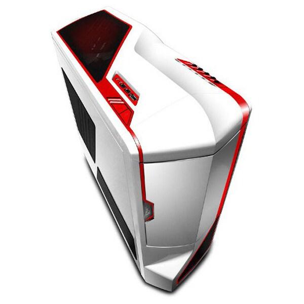 Carcasa NZXT PHANTOM White-Red, USB 3.0, fara sursa, alb-rosu