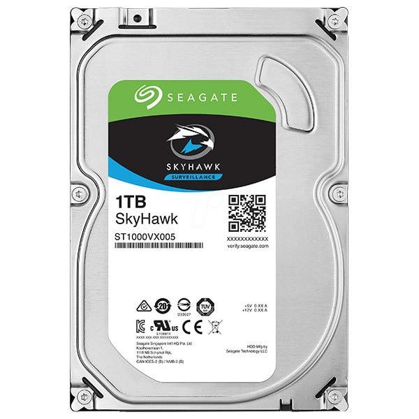 Hard Disk desktop SEAGATE SkyHawk Surveillance 1TB, 5900RPM, SATA3, 64MB, ST1000VX005