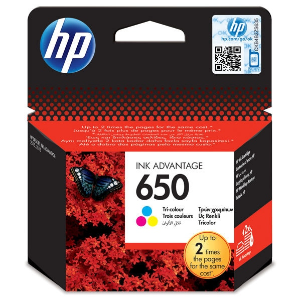 Cartus color HP 650 (CZ102AE)