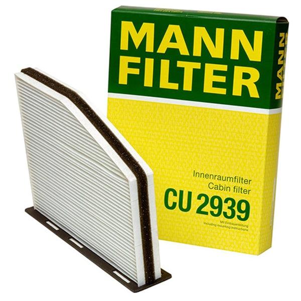 Filtru habitaclu MANN CU2939 pentru Audi A3 (8P1) 2003-2012