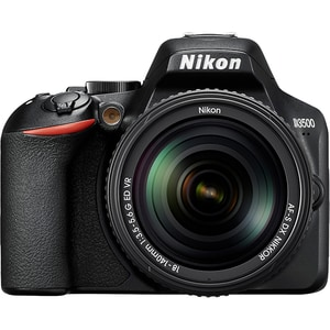 Aparat foto DSLR NIKON D7500, 20.9 MP, Wi-Fi, negru, Body + Obiectiv AF-S DX 18-140 mm VR