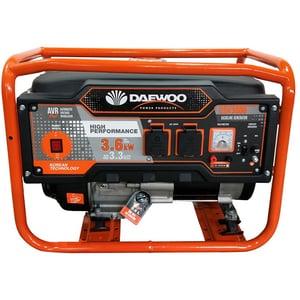 Generator electric DAEWOO GDK3600, 3600W, 4 timpi, benzina, autonomie 8h