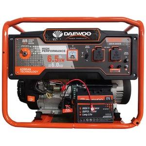 Generator electric DAEWOO GDK6500E, 6500W, 4 timpi, benzina, autonomie 20h