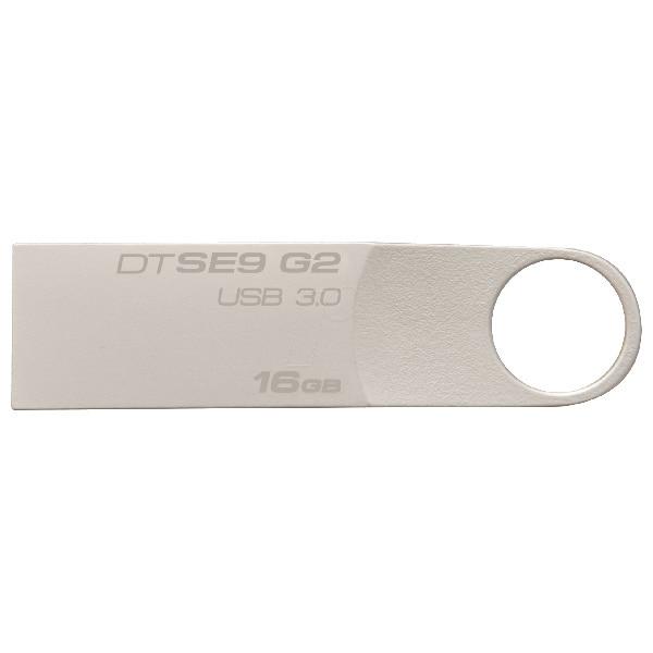 Memorie USB KINGSTON DataTraveler SE9 G2 DTSE9G2/16GB, 16GB, USB 3.0, argintiu