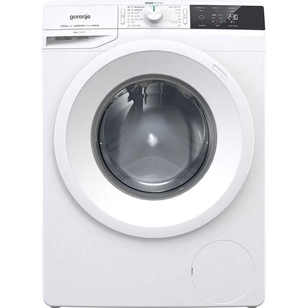 Masina de spalat rufe frontala GORENJE WEI823, WaveActive, 8 kg, 1200rpm, Clasa B, alb