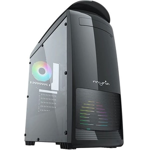 Sistem Desktop Gaming MYRIA Digital V27, Intel Core i5-9400F pana la 4.1GHz, 16GB, SSD 240GB, NVIDIA GeForce GTX 1650 4GB, Ubuntu