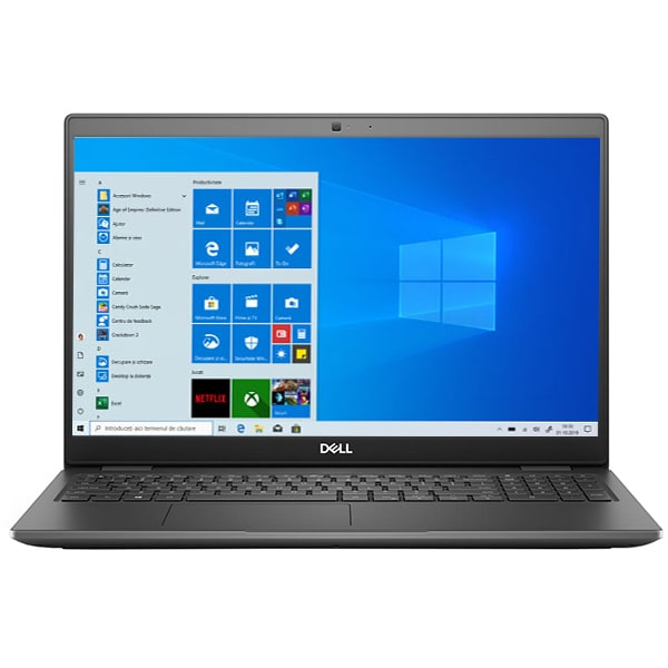 "Laptop DELL Latitude 3510, Intel Core i3-1011U pana la 4.1GHz, 15.6"" Full HD, 8GB, SSD 256GB, Intel UHD Graphics, Windows 10 Pro, gri"