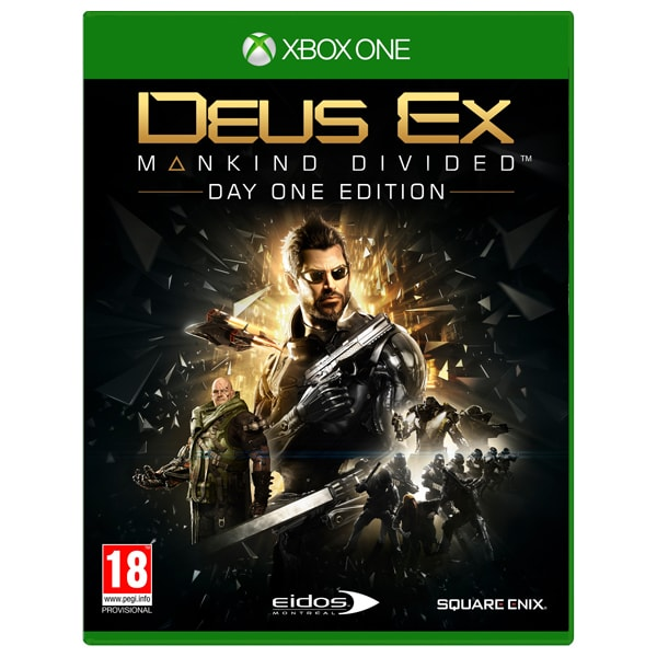 Deus Ex: Mankind Divided Day One Edition Xbox One
