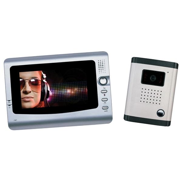 Interfon video PNI DF-926, 7 inch, argintiu