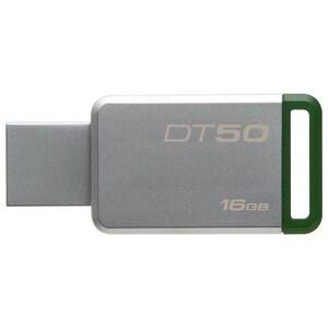 Memorie USB KINGSTON DataTraveler 50, 16GB, USB 3.1, argintiu