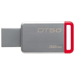 Memorie USB KINGSTON DataTraveler 50, 32GB, USB 3.1, argintiu