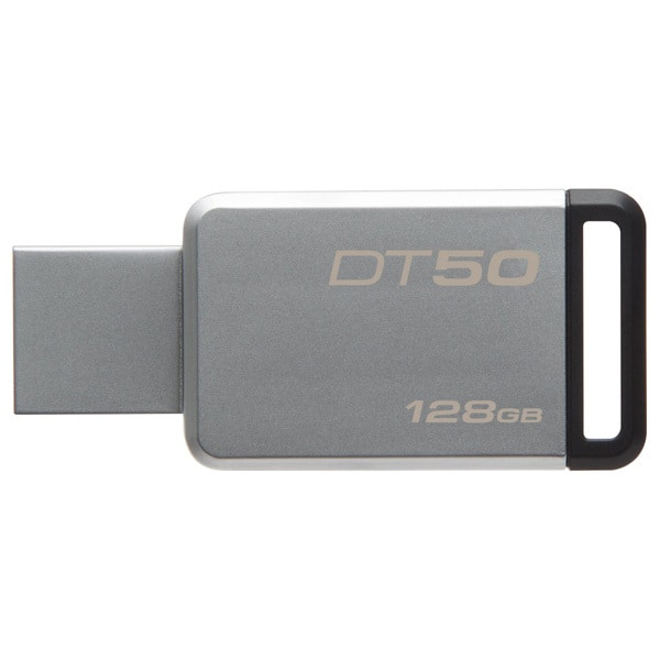 Memorie USB KINGSTON DataTraveler 50, 128GB, USB 3.1, argintiu