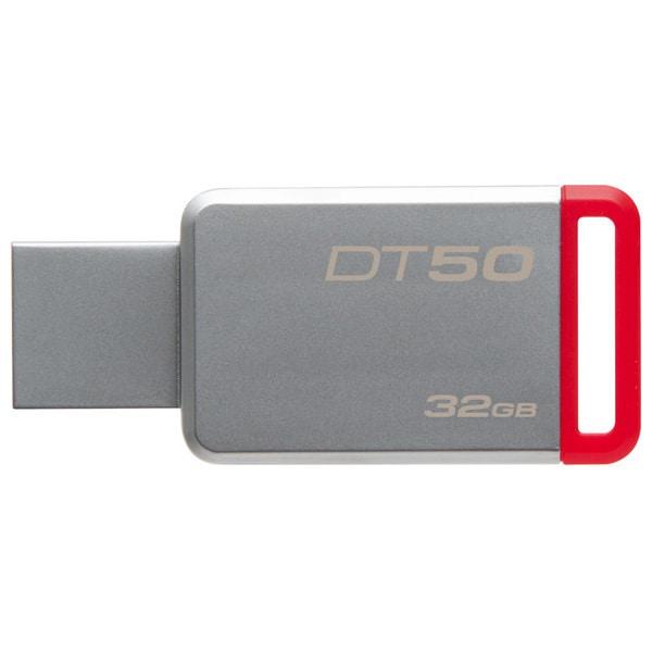 Memorie USB KINGSTON DataTraveler 50, 32GB, USB 3.1, argintiu