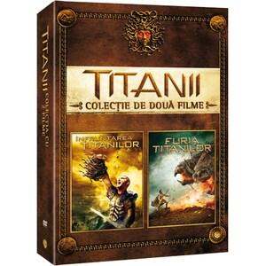 Pachet Infruntarea titanilor + Furia Titanilor DVD
