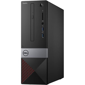 Sistem Desktop PC DELL Vostro 3471 SFF, Intel Core i3-9100 pana la 4.2GHz, 8GB, SSD 256GB, Intel UHD Graphics 630, Ubuntu