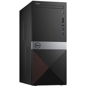 Sistem Desktop PC DELL Vostro 3671 MT, Intel Core i5-9400 pana la 4.1GHz, 4GB, 1TB, Intel UHD Graphics 630, Windows 10 Pro