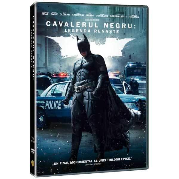 Cavalerul Negru - Legenda renaste DVD