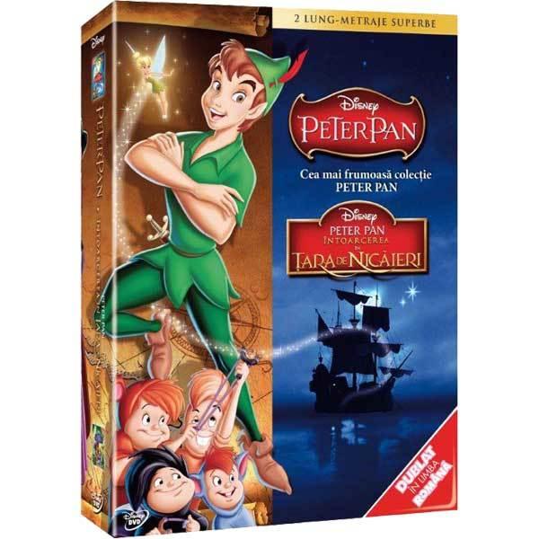 Pachet - Peter Pan + Intoarcerea in Tara de Nicaieri DVD