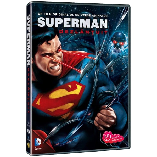Superman dezlantuit DVD