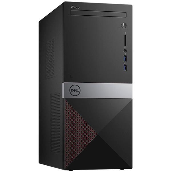 Sistem Desktop PC DELL Vostro 3671 MT, Intel Core i5-9400 pana la 4.1GHz, 4GB, 1TB, Intel UHD Graphics 630, Windows 10 Pro