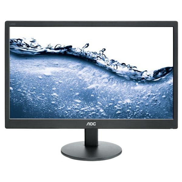 "Monitor LED TN AOC e2070Swn, 19.5"", 60Hz, negru"