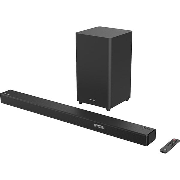 Soundbar HISENSE HS312, 300W, Bluetooth, Dolby Atmos, negru