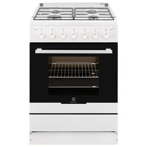 Aragaz ELECTROLUX EKG61182OW, 4 zone de gatit, gaz, grill, rotisor, alb