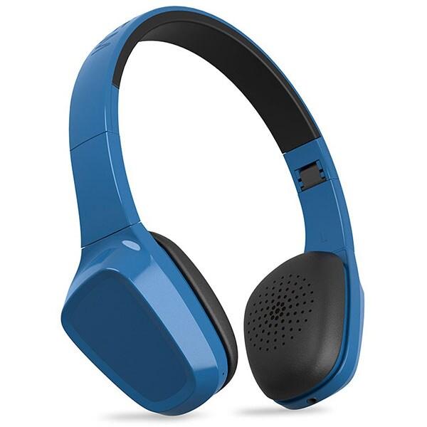 Casti ENERGY SISTEM Headphones 1, Bluetooth, On-Ear, Microfon, albastru