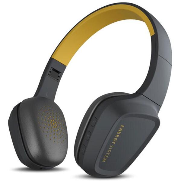 Casti ENERGY SISTEM Headphones 3, Bluetooth, On-Ear, Microfon, galben