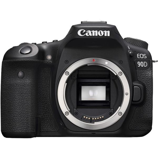Aparat foto DSLR CANON EOS 90D, 32.5 MP, Wi-Fi, negru, Body