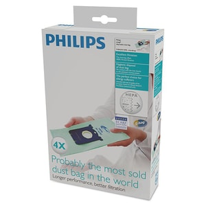 Set saci aspirator PHILIPS Anti-Alergii FC8022/04, 4 buc