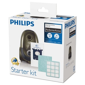 Kit PHILIPS Performer Active FC8059/01: 6 saci + 1 filtru