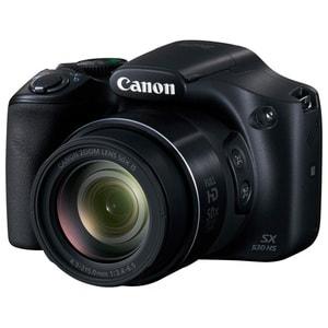 Aparat foto digital CANON PowerShot SX530, 16 MP, Full HD, Wi-Fi, negru