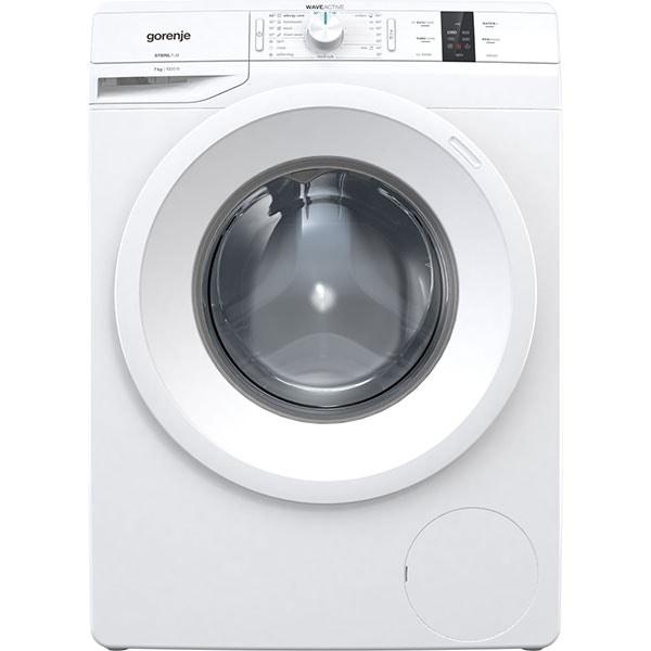 Masina de spalat rufe frontala GORENJE WP70S3, WaveActive, 7kg, 1000rpm, Clasa A+++, alb