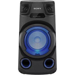 Sistem audio High Power SONY MHC-V13, Bluetooth, CD, USB, Radio FM, Iluminare, negru