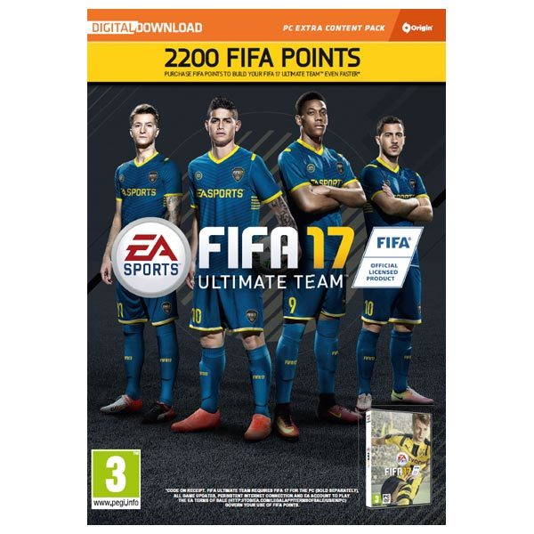 FIFA 17 2200 FUT Points PC (Code in a Box)