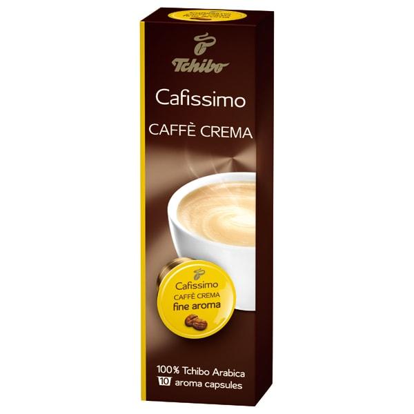 TCHIBO Cafissimo Caffe Crema Fine Aroma, 10 buc