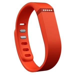 Bratara fitness FITBIT Flex, Android/iOS, silicon, portocaliu