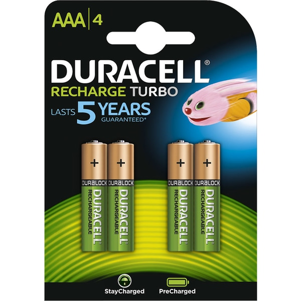 Acumulatori DURACELL 81384368, AAA, 800 mAh, 4 bucati