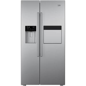 Side-by-Side BEKO GN162431ZX, NeoFrost, 544 l, H 179 cm, Clasa A++, inox