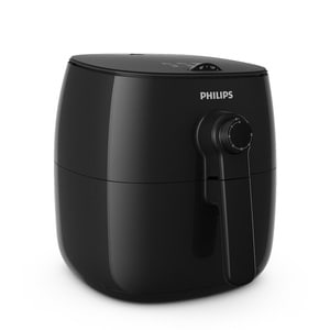 Friteuza PHILIPS Viva Collection Airfryer HD9621/90, 0.8kg, negru
