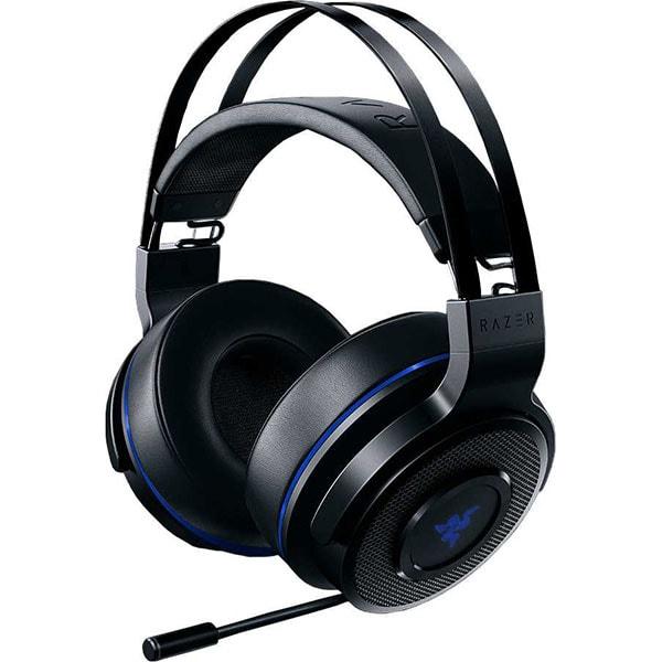 Casti gaming RAZER Thresher 7.1 Wireless PS4, negru-albastru