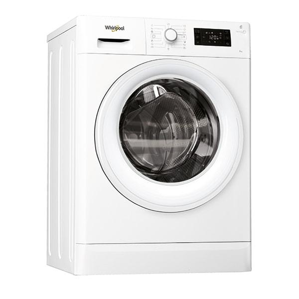 Masina de spalat rufe frontala WHIRLPOOL FWSG61053WEU, 6th sense, 6kg, 1000rpm, Clasa A+++, alb