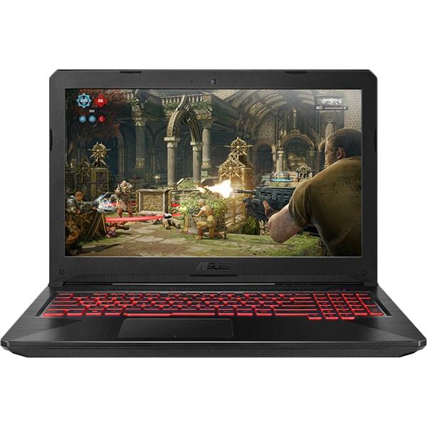 "Laptop Gaming ASUS FX504GM-EN224, Intel Core i7-8750H pana la 4.1GHz, 15.6"" Full HD, 8GB, HDD 1TB + SSD 256GB, NVIDIA GeForce GTX 1060 6GB, Free Dos"