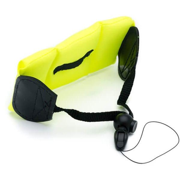 Bratara plutitoare pentru camere video sport E-BODA, galben