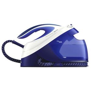 Statie de calcat PHILIPS PerfectCare Performer GC8731/20, 2600W, 390g/min, 1.8l, talpa SteamGlide Plus, alb-albastru